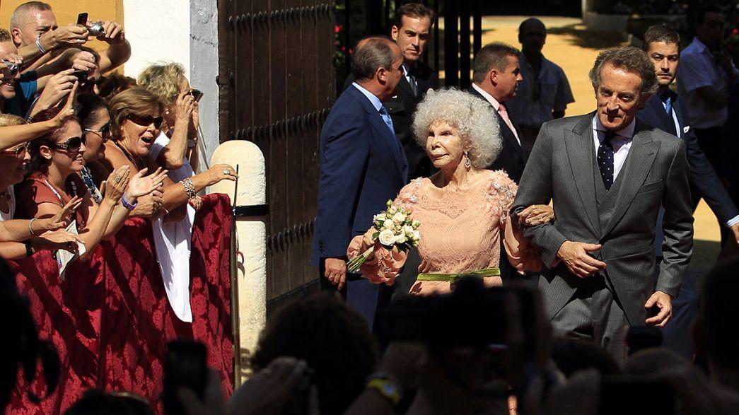 Умерла герцогиня Альба, самая титулованная особа мира