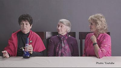 Grannies' giggles: video of weed-smoking grandmas goes viral overnight