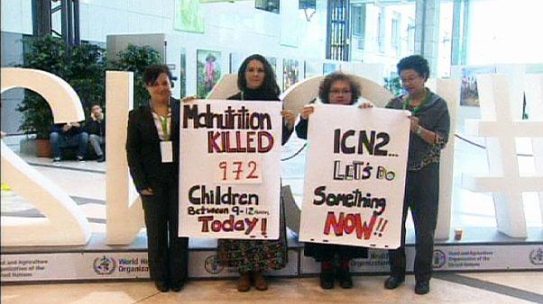 Rome: ICN2 tackles Ebola, nutrition, malnutrition, obesity