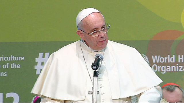Papa Francis açlıkla mücadele için toplumsal dayanışma çağrısı yaptı