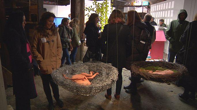 Les jeunes expérimentent l'art à Tallinn