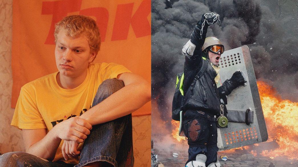 A kijevi Majdan Guillaume Herbaut fotográfus szemével