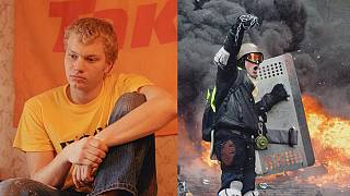 Fotos über die Proteste auf dem Maidan 2004 und 2013