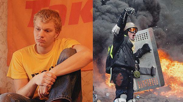 تفاوت دو انقلاب اوکراین از نظر عکاس فرانسوی