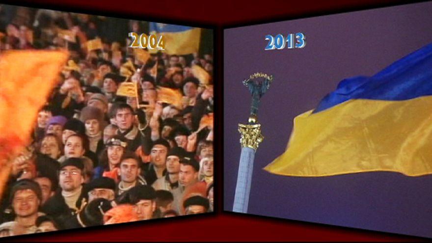 Ukrayna'daki Turuncu Devrim 1 yaşına giriyor!