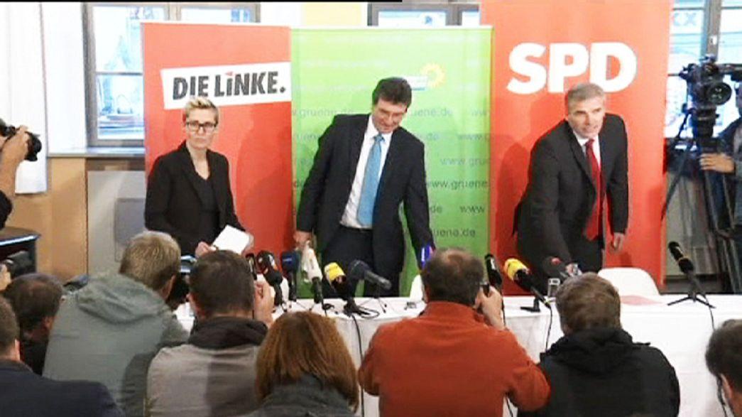 Almanya'da sol partilerden tarihi ittifak