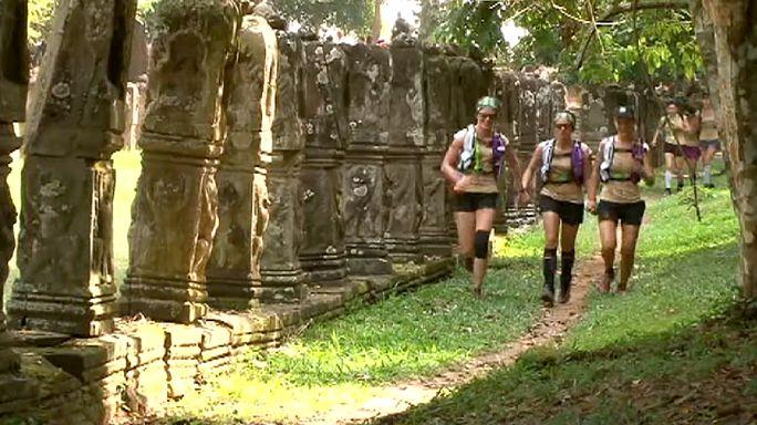 انطلاق سباق الشجرة الخضراء بكمبوديا