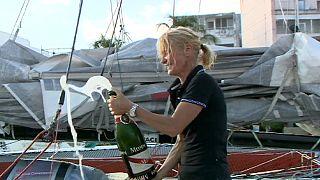 Rom Yolu Yarışı: Anne Caseneuve finalde güldü