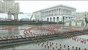 Kyiv prepares for Maidan anniversary as Joe Biden flies in