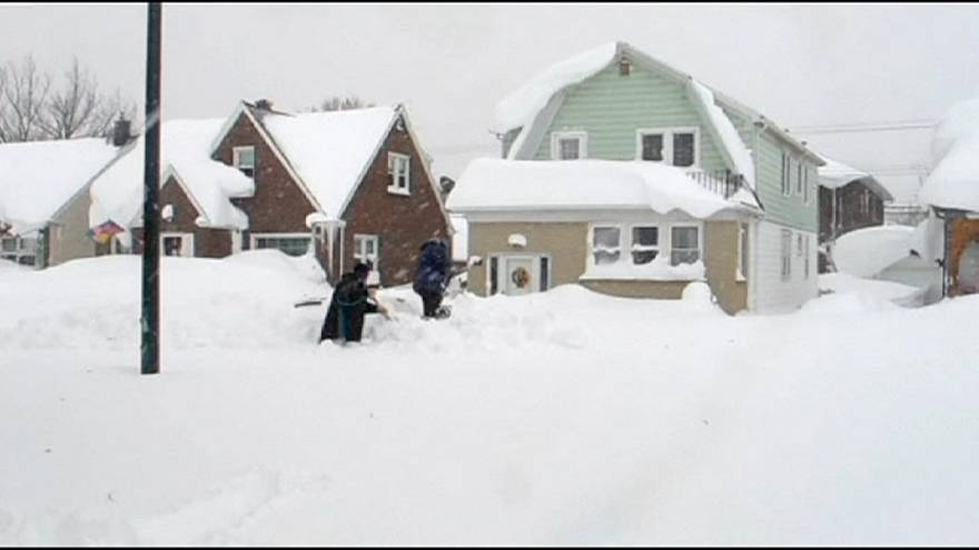 США: число жертв снегопадов увеличилось до 10