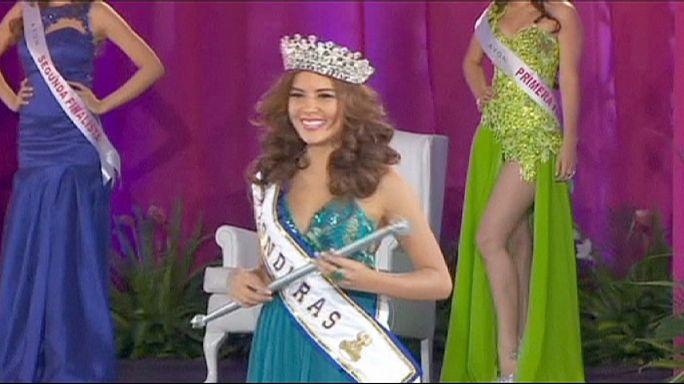 جسد ملکه زیبایی هندوراس به خاک سپرده شد