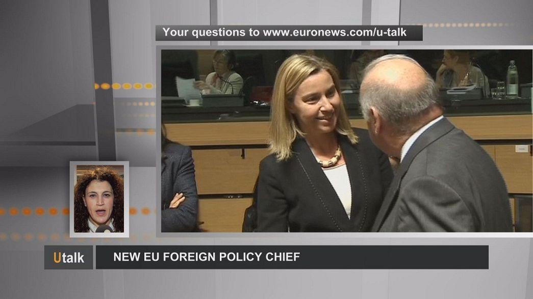 Federica Mogherini, Alta Rappresentante Ue per la politica estera