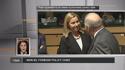 Federica Mogherini: nueva jefa de la diplomacia europea
