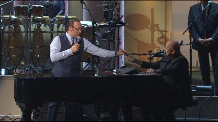 Billy Joel Kongre Kütüphanesi Ödülü'ne layık görüldü