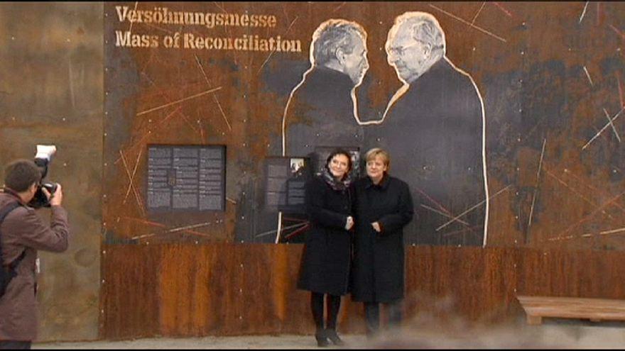 Merkel e Kopacz assinalam o 25º aniversário da reconciliação polaco-alemã