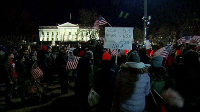 Tömegek ünnepelték Obama elnök bejelentését