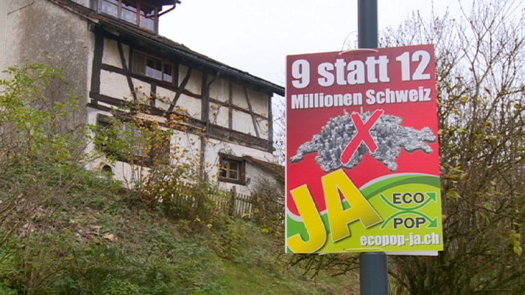 Suiza afronta una nueva consulta sobre inmigración que podría reabrir tensiones con la UE
