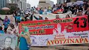 Mexico: violent protests over 43 missing students