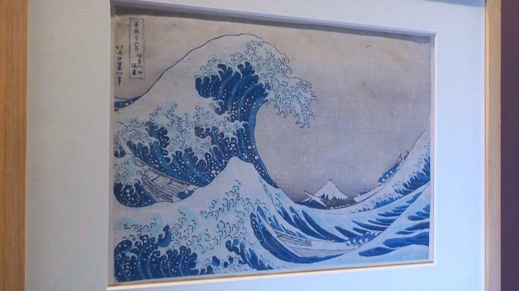 Crashing onto the Paris exhibition scene: Hokusai's 'Great Wave' at Le Grand Palais