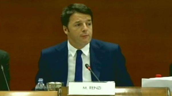 Итальянские рабочие против премьера