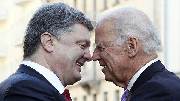 """US-Vize Biden in Kiew: """"Lösen Sie Ihre Zusagen ein, Herr Putin"""""""