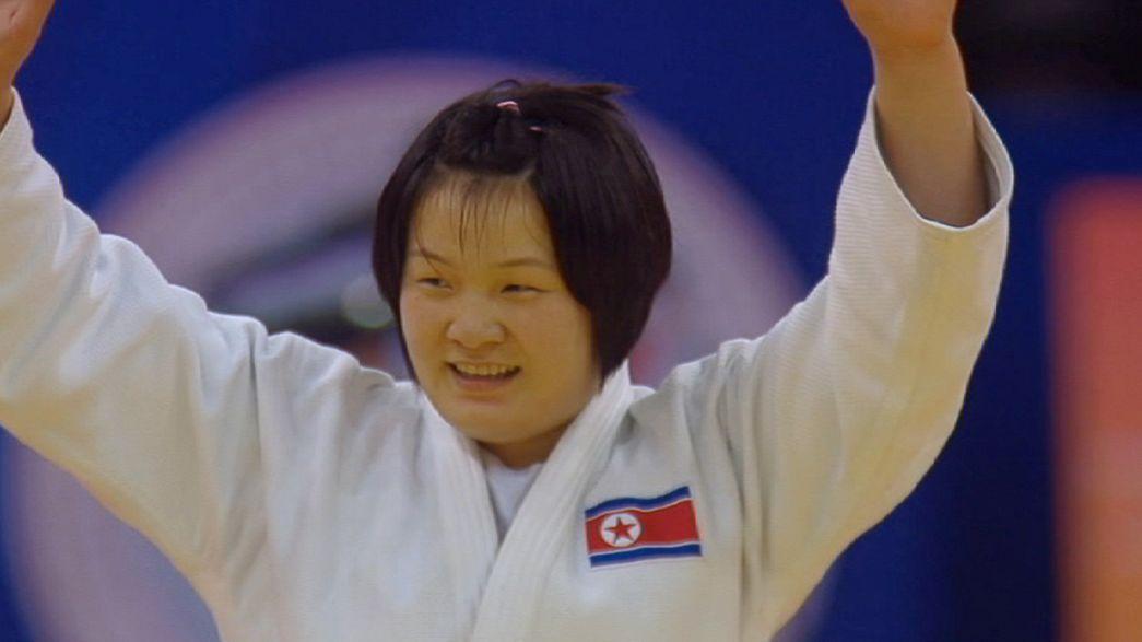 La judoca Song Yu da una alegría a la afición china en la última jornada en Qingdao