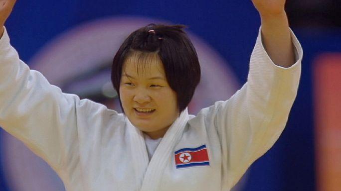 Гран-при по дзюдо в Циндао завершили тяжеловесы