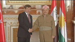 Türkei verspricht Kurden Unterstützung im Kampf gegen IS-Milizen