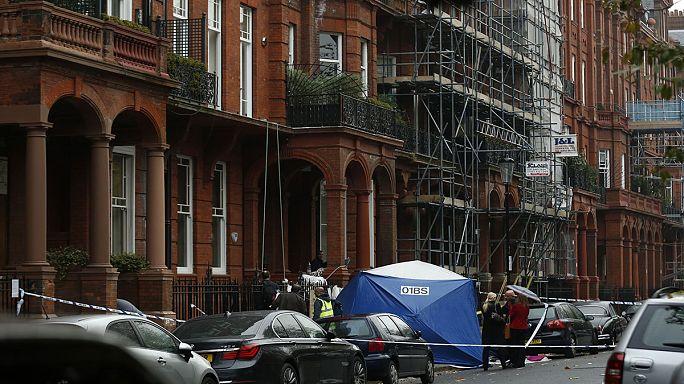 Londra'nın gözde semtinde balkon çöktü
