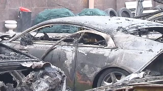 Moscow: Luxury car collection destroyed in suspected arson attack