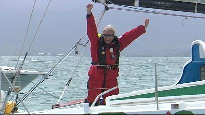 Rota do Rum: A chegada da segunda mulher e do velejador sem mão