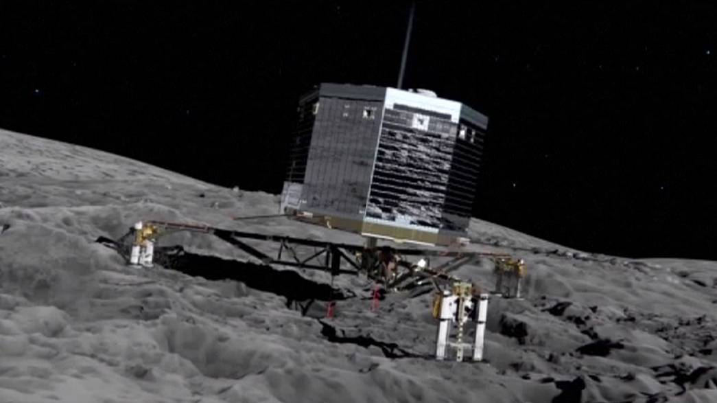 La ESA da a conocer el sonido del primer aterrizaje en un cometa