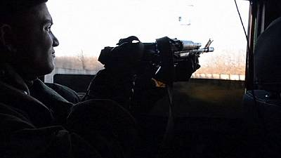 Further gunfire, but also war of words over crisis in Ukraine