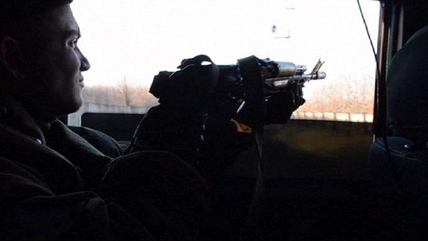 استمرار القتال بين الأنفصاليين والقوات الأوكرانية في دونيتسك