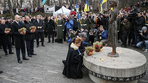 Ukraine : Petro Porochenko compare l'Holodomor au conflit actuel