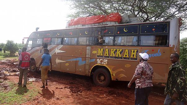 El Şebab Kenya'da otobüs kaçırıp 30 kişiyi öldürdü