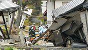 Dozens injured in Japan earthquake