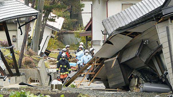 Giappone, terremoto di magnitudo 6,8