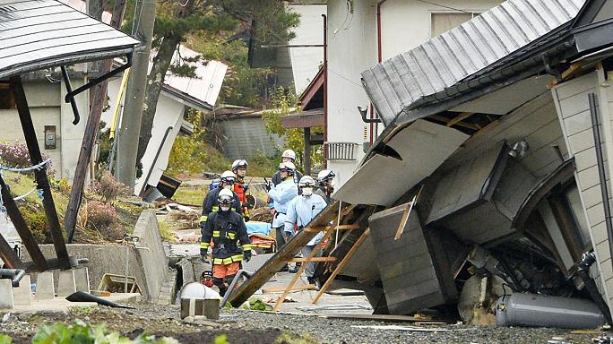 Japon : séisme de magnitude 6,2, près de 40 blessés