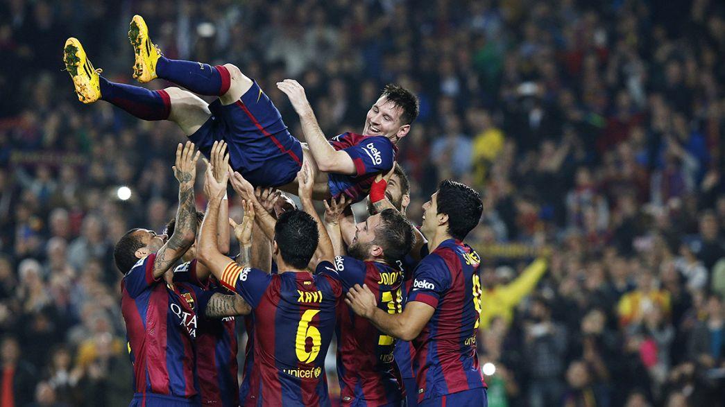 Lionel Messi bate recorde histórico de Telmo Zarra