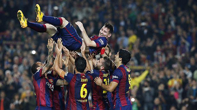 253 bajnoki gól Messi vadonatúj rekordja