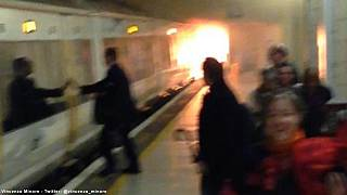 London Charing Cross station reopens after fire