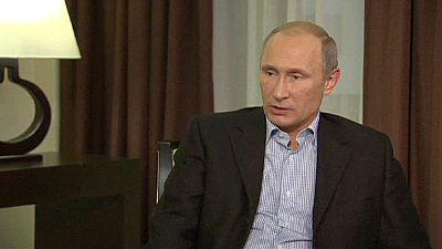"""Putin: """"Niemand wird eine Mauer um uns errichten"""""""