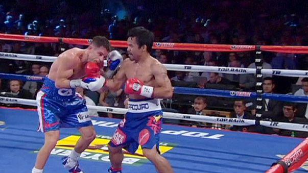 Manny Pacquiao hat seinen WBO-Titel im Weltergewicht verteidigt