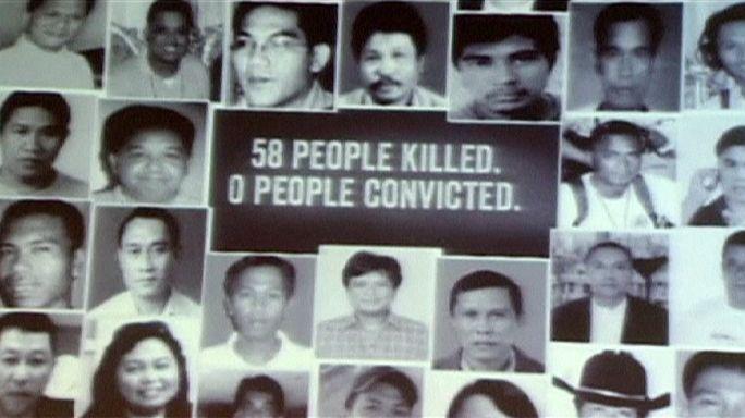 Filipinler'de kanlı katliam anıldı