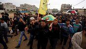 Palestinian man shot in Gaza near border with Israel