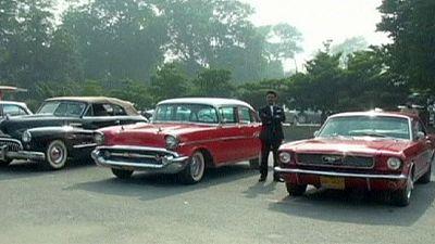 Pakistan: Vintage car rally – nocomment