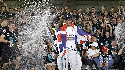 Speed: Hamilton takes Formula One title in Abu Dhabi