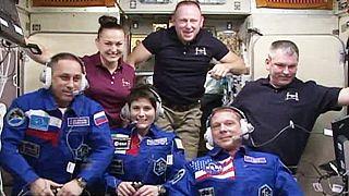На МКС прибыли трое новых космонавтов