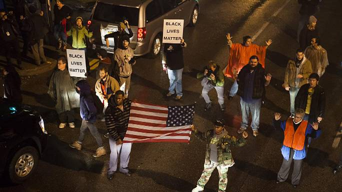 Missouri town waits anxiously for decision on police shooting of teenager